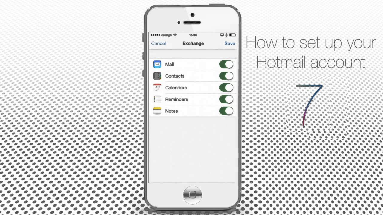How to Set Up Hotmail in IPhone